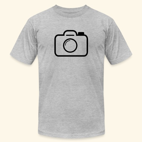 Camera - Unisex Jersey T-Shirt by Bella + Canvas