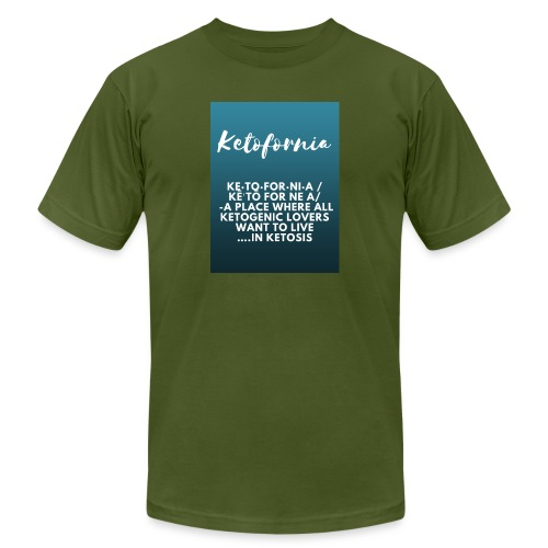 Ketofornia - Unisex Jersey T-Shirt by Bella + Canvas
