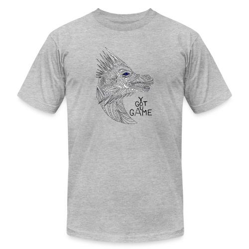 Blue eye dragon - Men's  Jersey T-Shirt