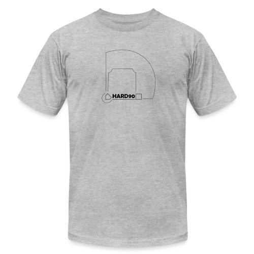 Hard 90 field - Unisex Jersey T-Shirt by Bella + Canvas