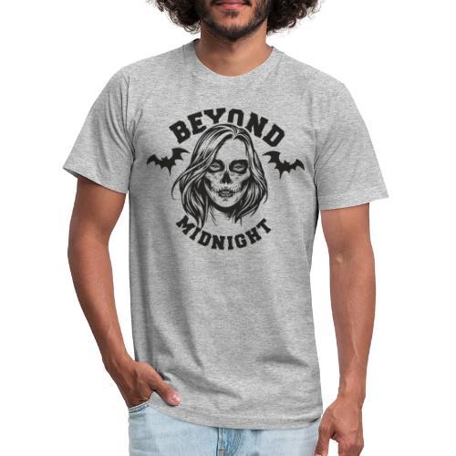midnight woman bat - Unisex Jersey T-Shirt by Bella + Canvas