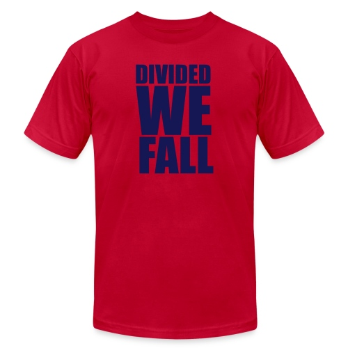 DIVIDED WE FALL - Unisex Jersey T-Shirt by Bella + Canvas