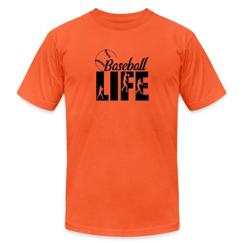 Baseball life - Unisex Jersey T-Shirt by Bella + Canvas