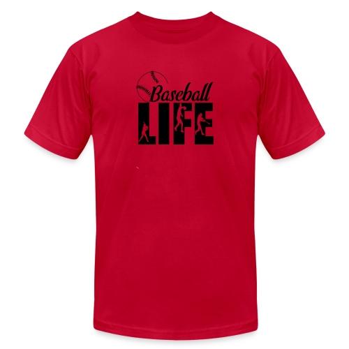 Baseball life - Men's Jersey T-Shirt