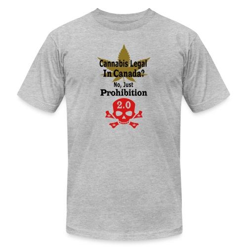 prohibition - Unisex Jersey T-Shirt by Bella + Canvas