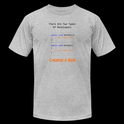 Code Styling Preference Shirt - Men's Jersey T-Shirt