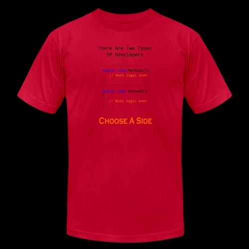 Code Styling Preference Shirt - Men's Jersey T-Shirt