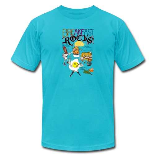 Breakfast Rocks! - Men's Jersey T-Shirt