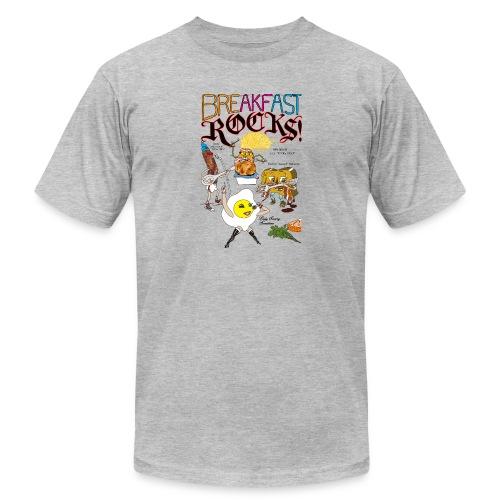 Breakfast Rocks! - Men's  Jersey T-Shirt