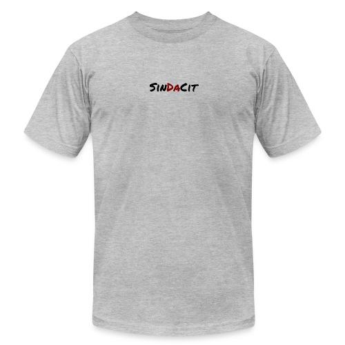 SinDaCit Text - Men's  Jersey T-Shirt