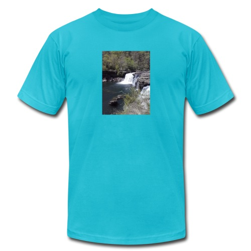LRC waterfall - Men's Jersey T-Shirt