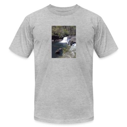 LRC waterfall - Unisex Jersey T-Shirt by Bella + Canvas