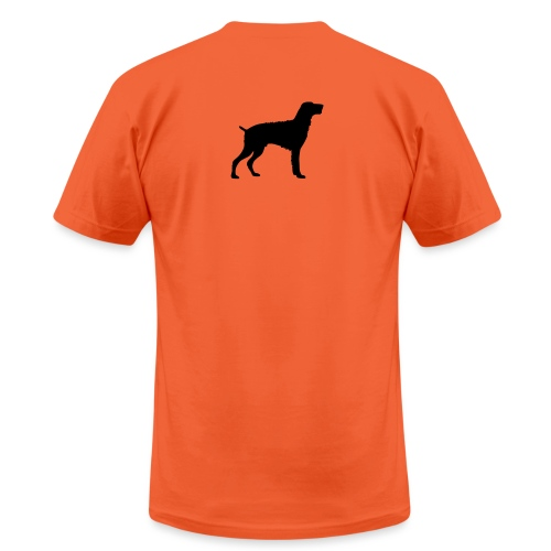 German Wirehaired Pointer - Unisex Jersey T-Shirt by Bella + Canvas