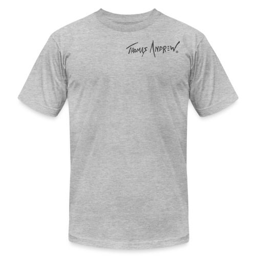 Thomas Andrew Signature_d - Unisex Jersey T-Shirt by Bella + Canvas