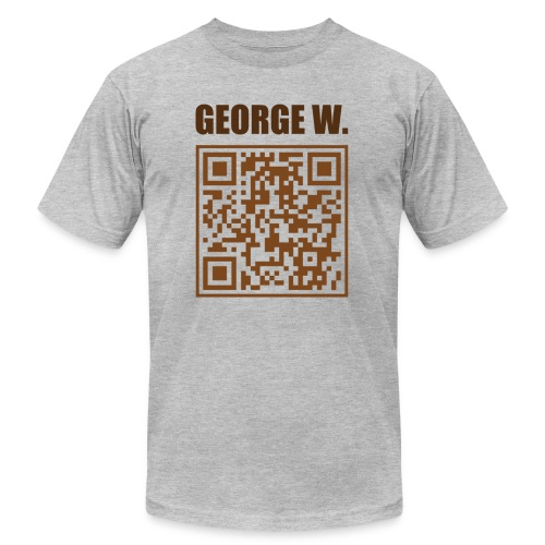 george w transparent - Unisex Jersey T-Shirt by Bella + Canvas
