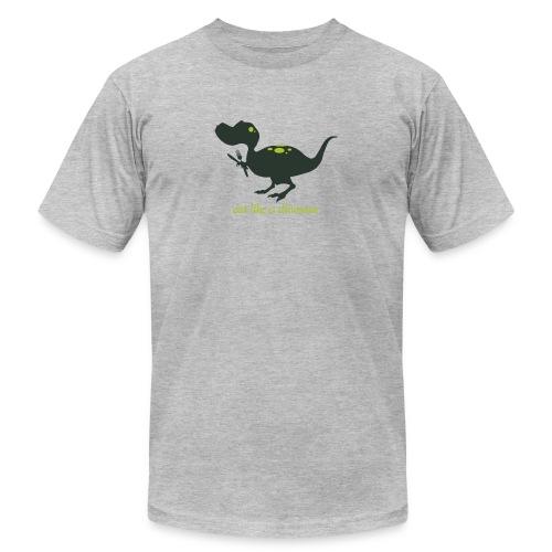 Eat Like A Dinosaur - Unisex Jersey T-Shirt by Bella + Canvas