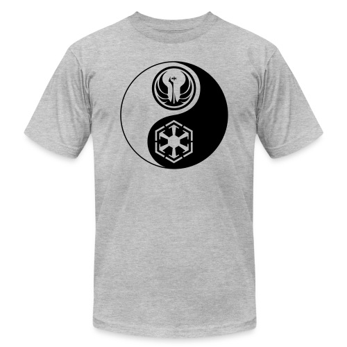 Star Wars SWTOR Yin Yang 1-Color Dark - Unisex Jersey T-Shirt by Bella + Canvas