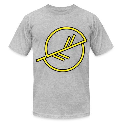 Warrior-yellow - Unisex Jersey T-Shirt by Bella + Canvas