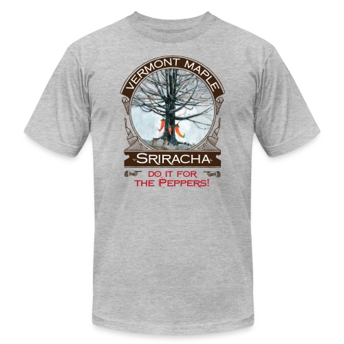 Vermont Maple Sriracha - Unisex Jersey T-Shirt by Bella + Canvas