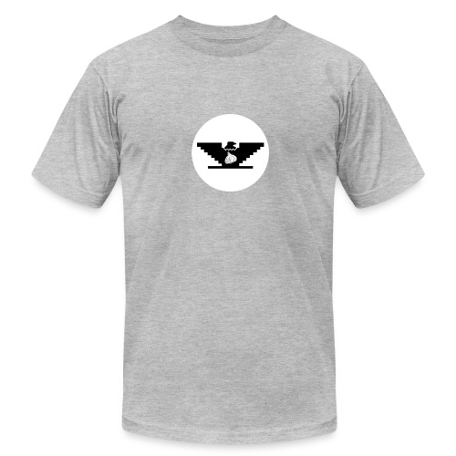 Garlic Huelga Bird - Men's Fine Jersey T-Shirt