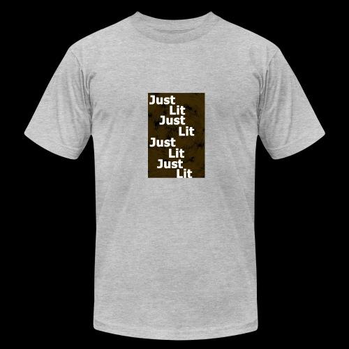 just lit - Men's Fine Jersey T-Shirt