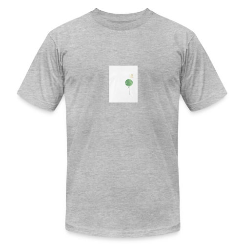 Tree with Crown - Men's Fine Jersey T-Shirt