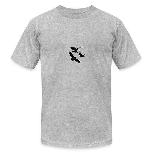 Eagle logo - Men's  Jersey T-Shirt