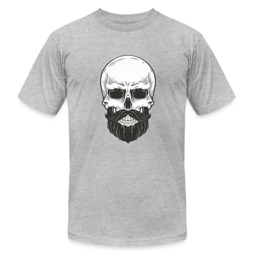 Skull with beard - Men's Fine Jersey T-Shirt