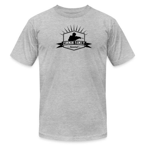Common Family Survival YouTube Channel Logo - Men's Fine Jersey T-Shirt