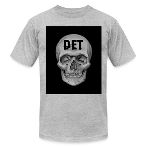 DET Skeleton - Men's Fine Jersey T-Shirt