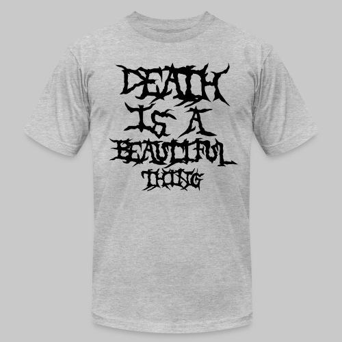 deathisabeautifulthing font - Men's  Jersey T-Shirt