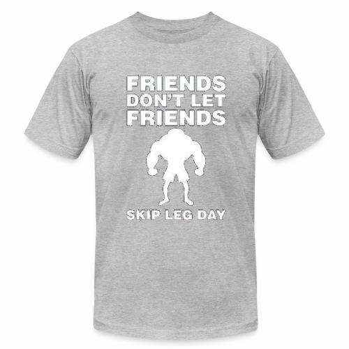 gym - Men's Fine Jersey T-Shirt