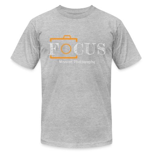 12x7 Focus Grey - Men's  Jersey T-Shirt