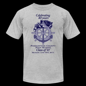 PCHS Class of '07 Reunion 2017 - Men's T-Shirt by American Apparel