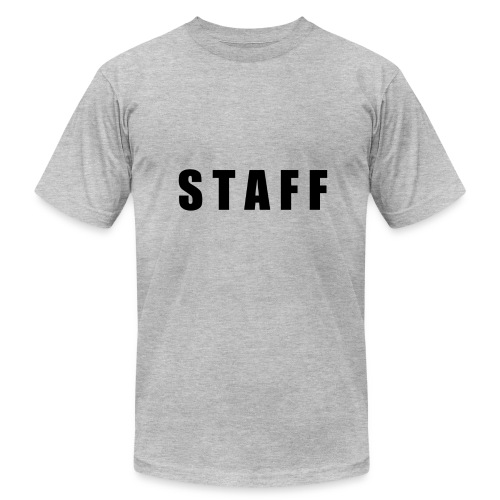 STAFF shirt - Men's Fine Jersey T-Shirt