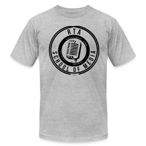 RTA School of Media Classic Look - Men's T-Shirt by American Apparel