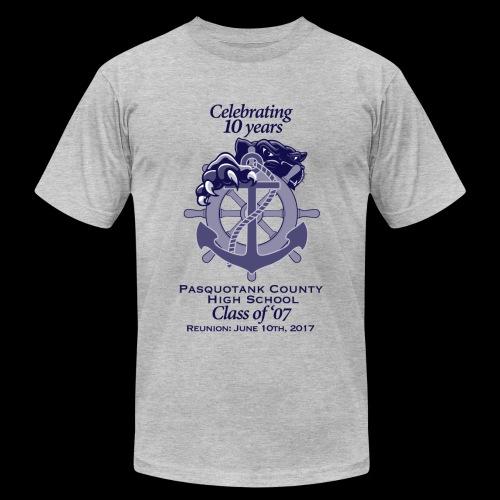 PCHS Class of '07 Reunion 2017 - Men's  Jersey T-Shirt