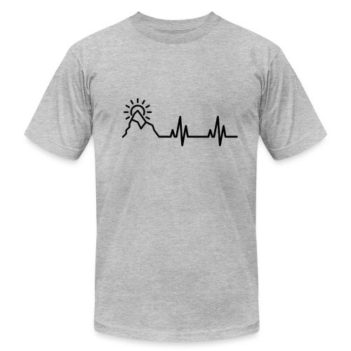 Heartbeat of a Traveler - Men's Fine Jersey T-Shirt