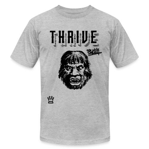 caveman thrive shirt - Men's  Jersey T-Shirt