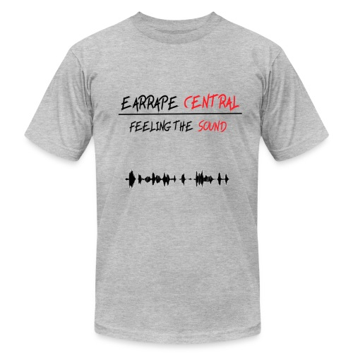 EARRAPE CENTRAL FEELING THE SOUND T-SHIRT - Men's Fine Jersey T-Shirt