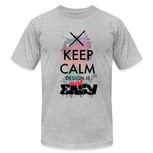 Design not easy - Men's Fine Jersey T-Shirt