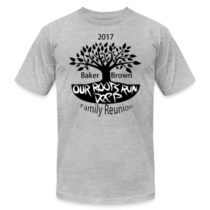 Baker Brown Family Reunion - Men's Fine Jersey T-Shirt