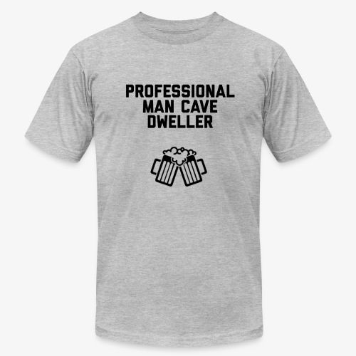 Pro man cave dweller - Men's  Jersey T-Shirt