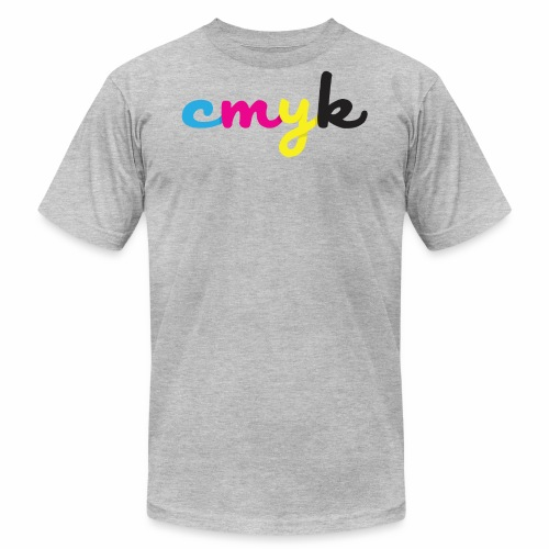 CMYK for Graphic Design Lovers - Men's Fine Jersey T-Shirt