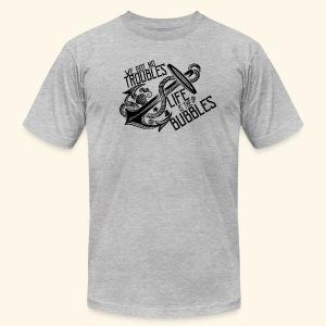 Life is the bubbles - Men's Fine Jersey T-Shirt
