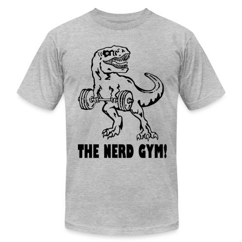 The Nerd Gym - Max Rex - Men's Fine Jersey T-Shirt