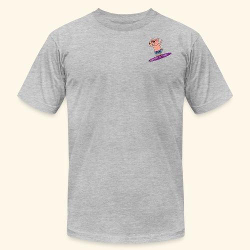 SurfnHog Logo Image - Men's Fine Jersey T-Shirt