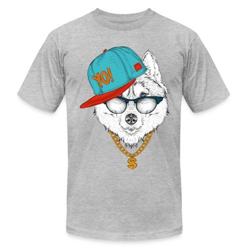 cool husky - Men's Fine Jersey T-Shirt