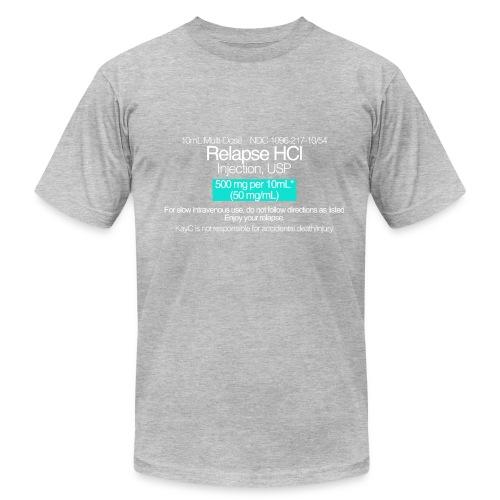 Relapse // WHITE - Men's Fine Jersey T-Shirt