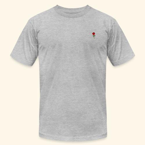 Rose Print - Men's Fine Jersey T-Shirt